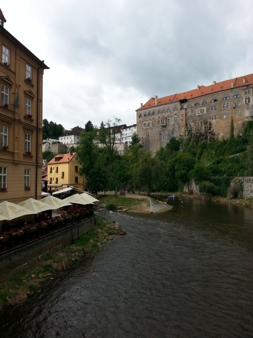 The Vltava River and The Castle